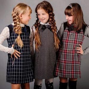 Школьные сарафаны для девочек