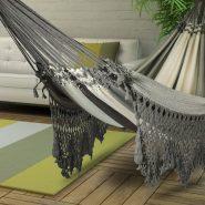 Летом на даче так приятно покачаться в гамаке, сделаем его сами?