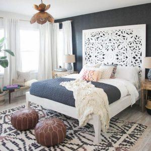 Оформление кровати в спальне: красота и современность