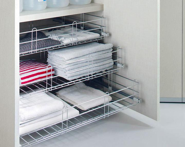 Хранение постельного белья: Идеи и система хранения