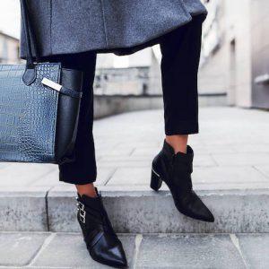 С какой обувью носить укороченные брюки: Модные тенденции осень-зима
