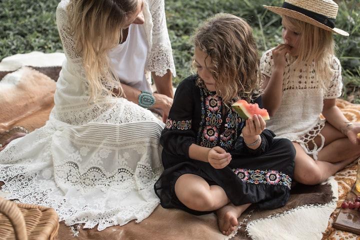 Одежда в стиле Бохо для детей