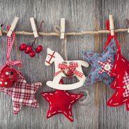 Елочные игрушки из текстильной ткани своими руками: выкройки, шитье на фото