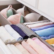 Как разложить вещи в шкафу: Идеи на фото