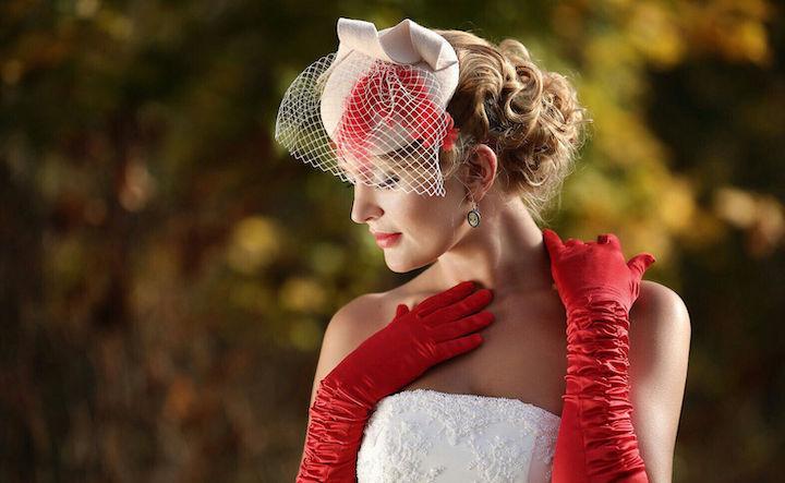 Свадебные шляпки для невесты: Образы на фото