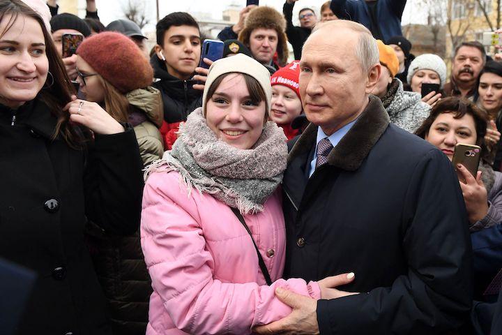 Путин посетил Иваново