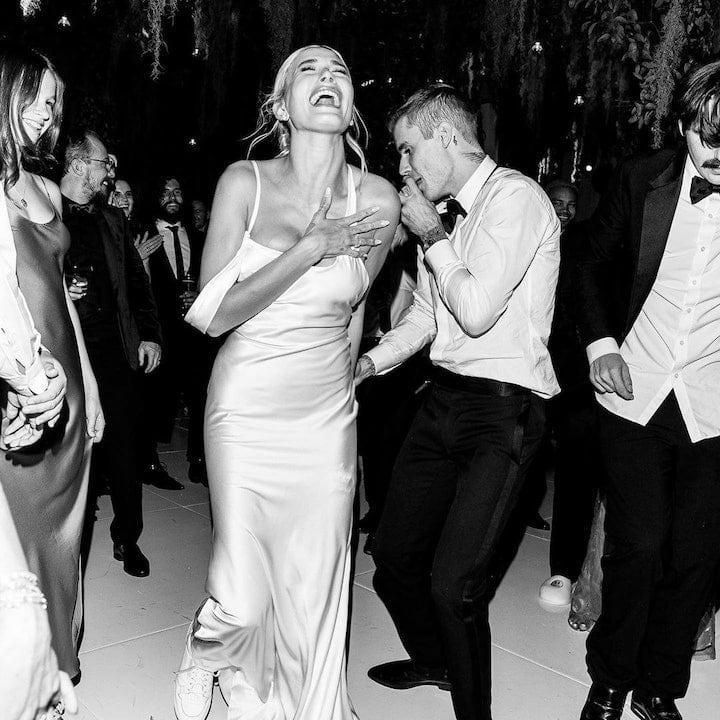 Свадебное платье Хейли Бибер