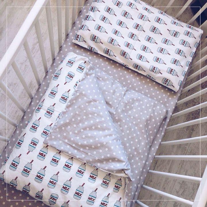 Какая ткань для детского постельного белья лучше