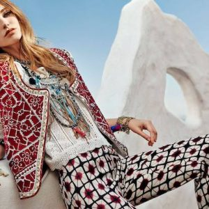 Блузки бохо-шик: одежда для смелых и неординарных