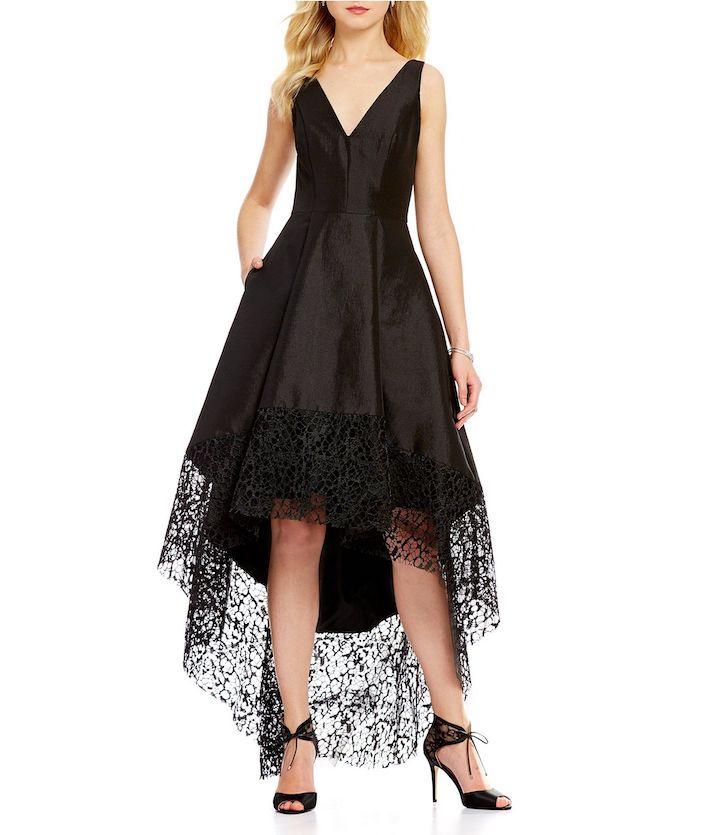 Как удлинить платье