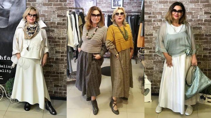 Бохо-шик для женщин 60+