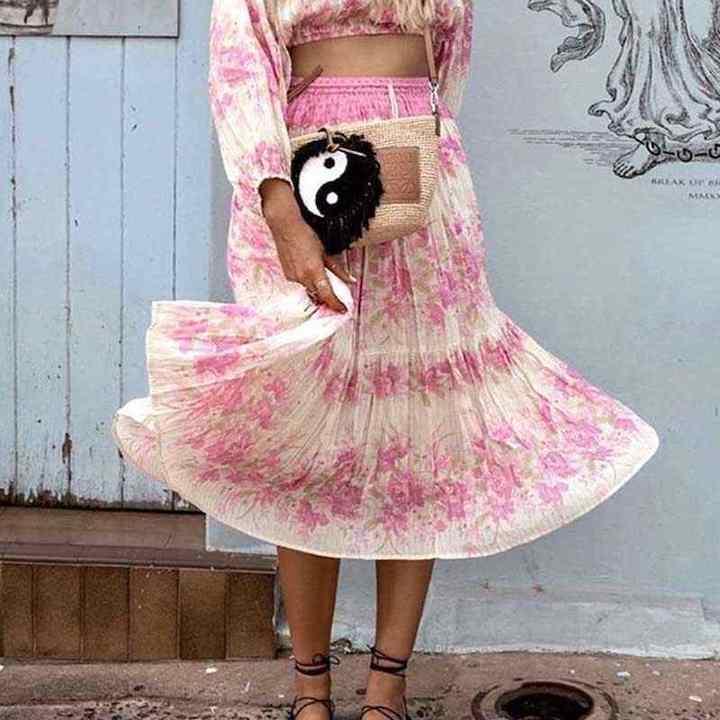 Бохо юбки