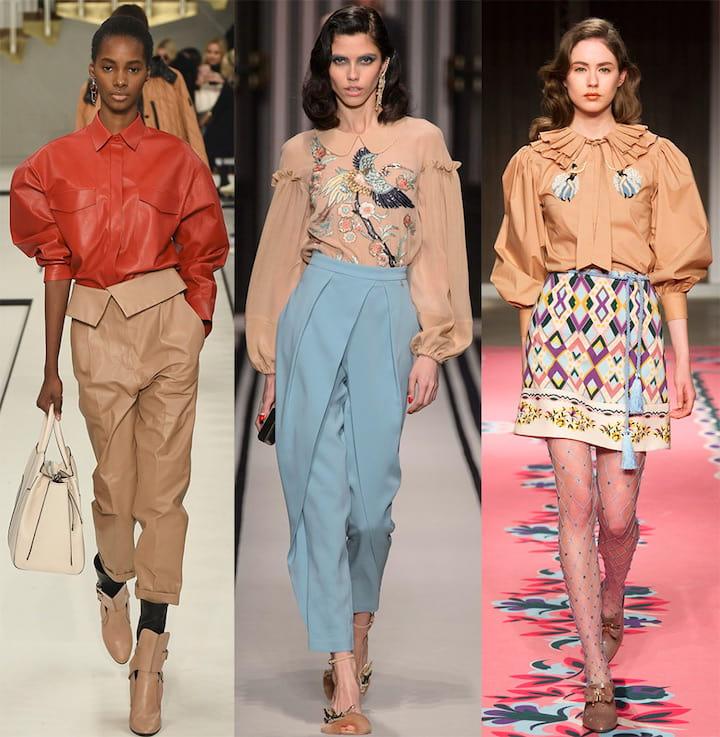 Модные тренды в блузах