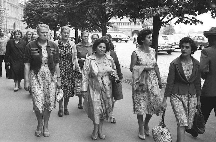 Образ «советской тётки»