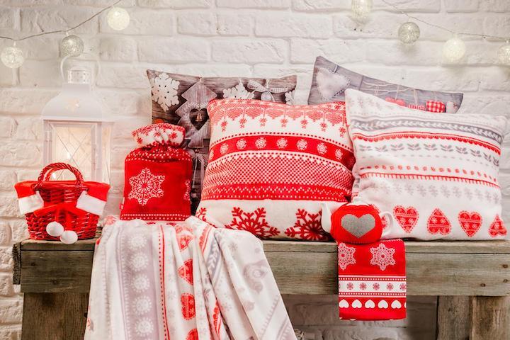 Новогодний текстиль – украшаем дом к праздникам