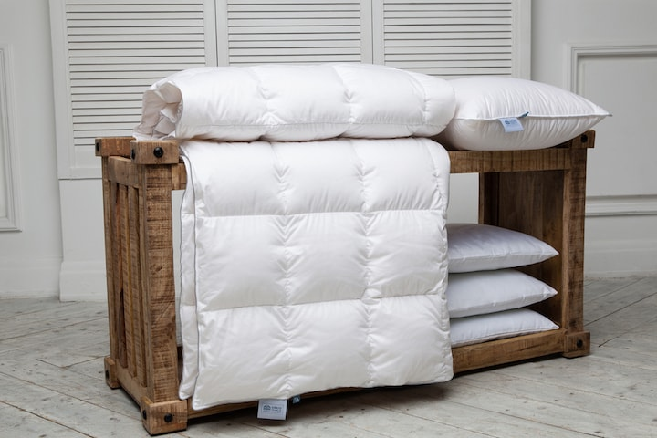 Выбор подушек и одеял