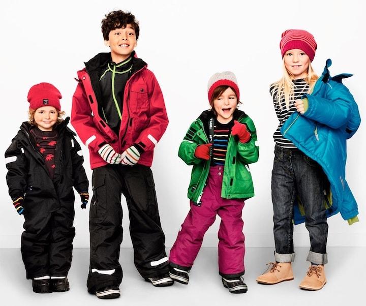 Зимняя одежда для первоклассника