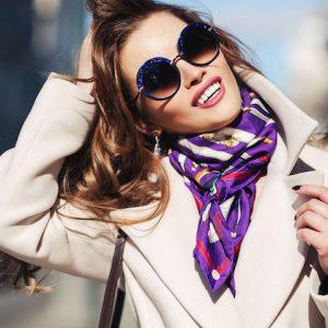 Красиво вяжем шарф: обычные и необычные узлы