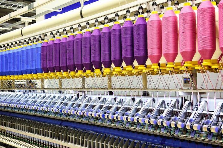 НДС за текстильное оборудование