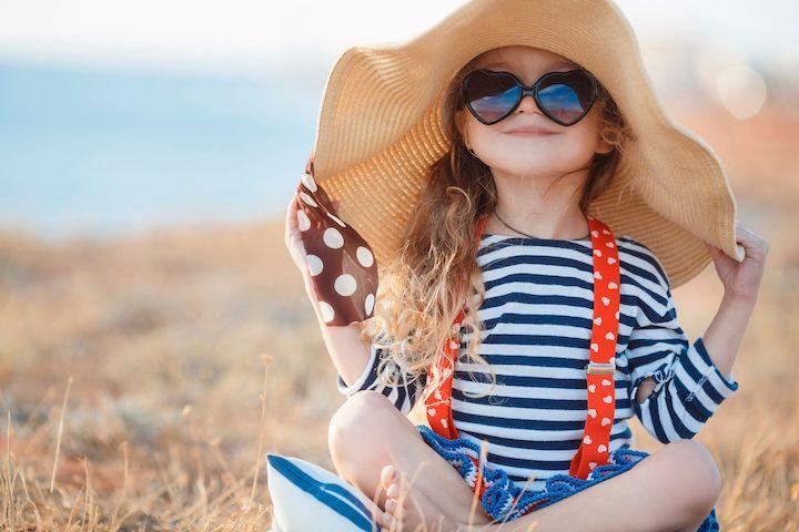 Выбор детского головного убора на лето