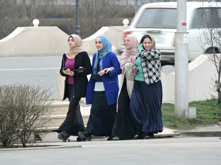 Как одеваются женщины разных регионов Кавказа